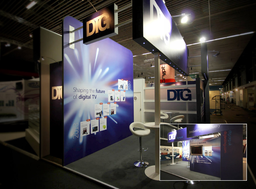 DTG Exhibition Stand