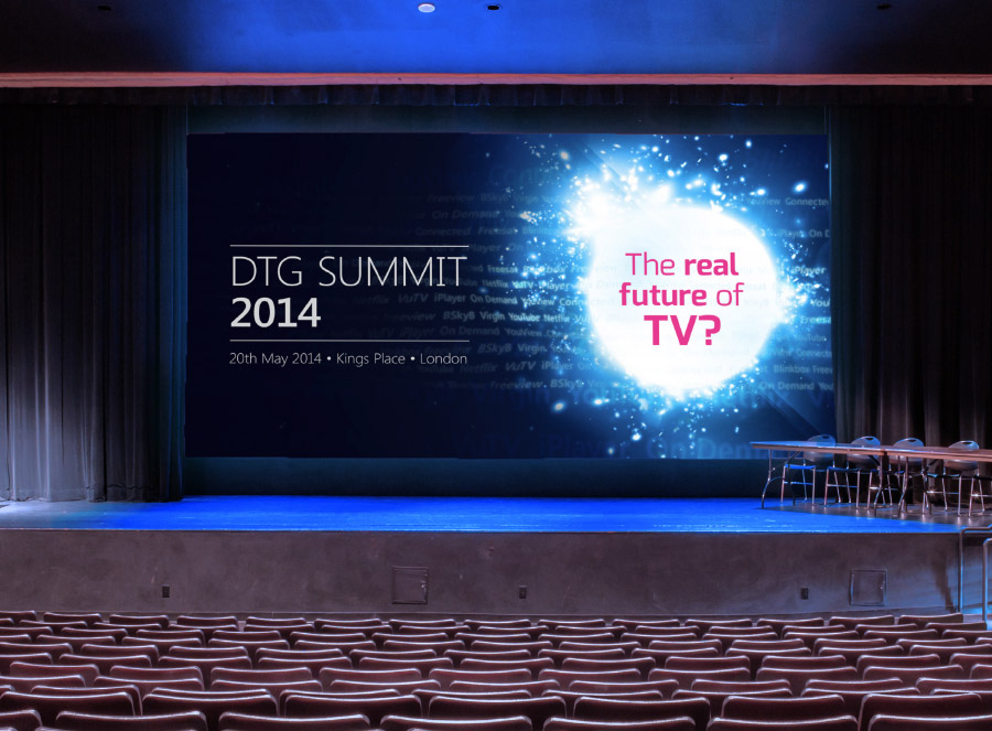 DTG Summit, the Real Future of TV branding